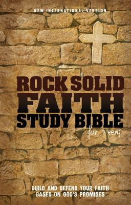 Rock Solid Faith Study Bible for Teens-NIV