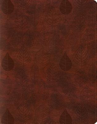 Single Column Journaling Bible-ESV-Leaves Design