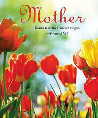 Tulips Mother's Day Bulletin 2012, Large Size (Package of 50)