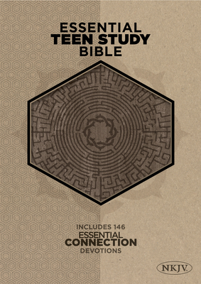 Essential Teen Study Bible-NKJV-Cork