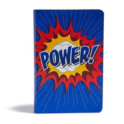 CSB Kids Bible, Power Leathertouch