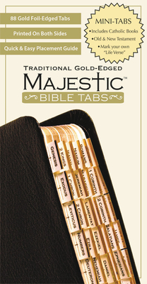 Majestic Traditional Gold Bible Tabs Mini