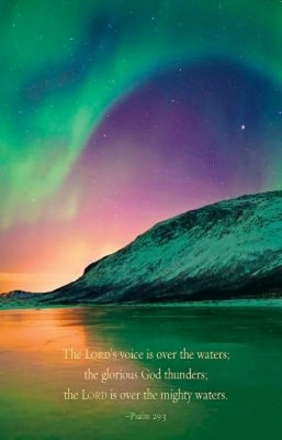 Aurora Borealis Scripture Series Bulletin (Pkg of 50)