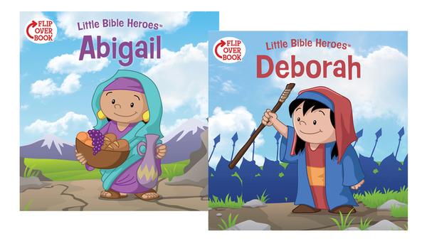Deborah/Abigail Flip-Over Book