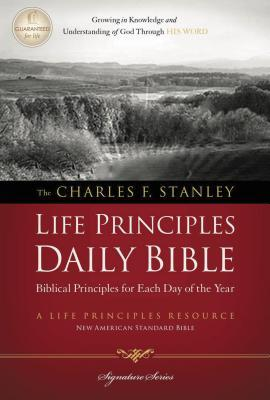 Charles F. Stanley Life Principles Daily Bible-NASB