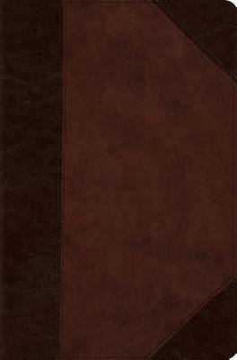 ESV Compact Bible (Trutone, Brown/Walnut, Portfolio Design)