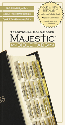 Majestic Traditional Gold-Edged Tabs