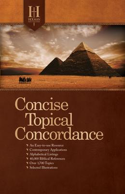 Holman Concise Topical Concordance, Tradepaper