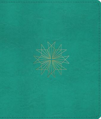 ESV Journaling Bible (Trutone, Teal, Resplendent Cross Design)