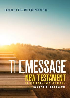 Message Pocket New Testament Psalms and Proverbs-MS