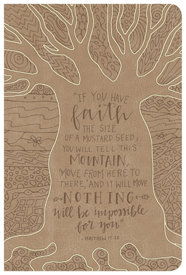 NKJV Large Print Personal Size Reference Bible, Natural Faith