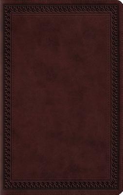 Large Print Value Thinline Bible-ESV-Border Design