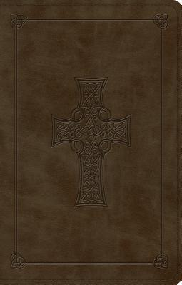 Premium Gift Bible-ESV-Cross Design