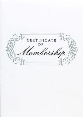 Abingdon Select Collection Certificate of Membership