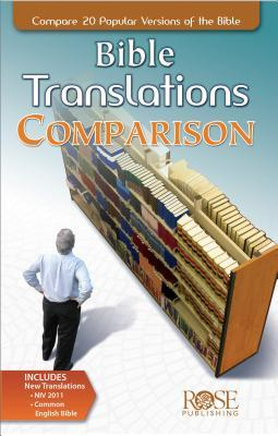 Bible Translations Comparison Pamphlet: Compare 20 Popular Versions of the Bible