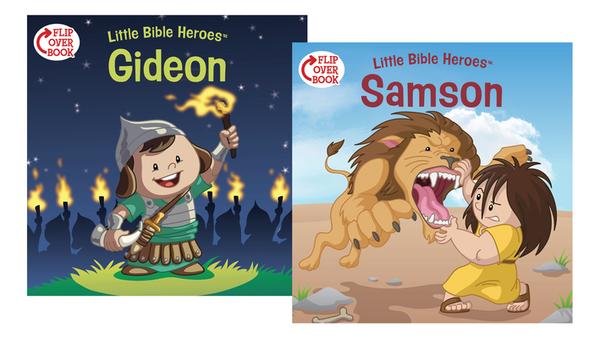 Samson/Gideon Flip-Over Book