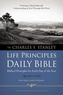 Charles F. Stanley Life Principles Daily Bible-NKJV