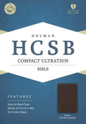 Compact Ultrathin Bible-HCSB