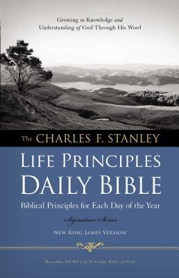 Charles F. Stanley Life Principles Daily Bible-NKJV-Signature