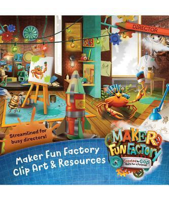 Maker Fun Factory Clip Art & Resources CD