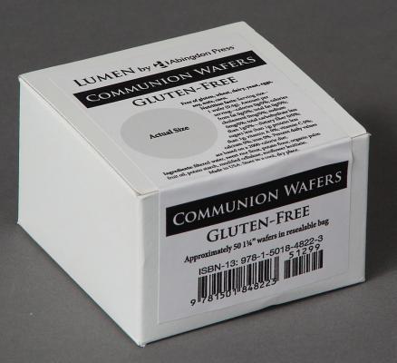 Communion Wafers, Gluten-Free (Box of 50): Lumen by Abingdon Press