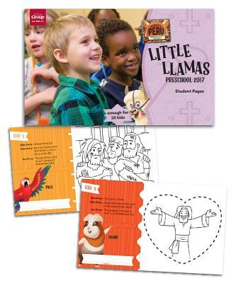 Little Llamas Preschool Pages (Package of 50 Sheets, Enough for 10 Kids)