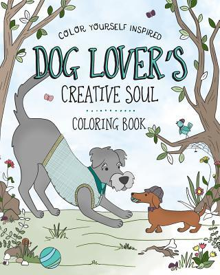 Dog Lover's Creative Soul Coloring Book