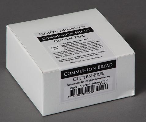 Communion Bread, Gluten-Free (Box of 200): Lumen by Abingdon Press