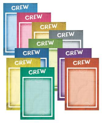 Crew Signs (Set of 10)