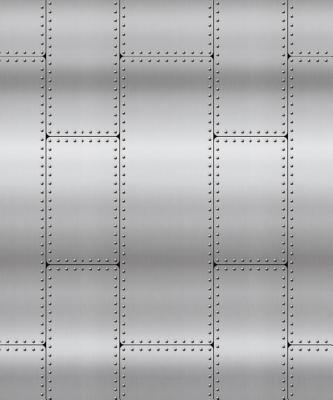 Riveted Metal Plastic Backdrop (4 Ft. X 30 FT.)