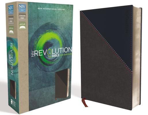 NIV, Revolution Bible, Imitation Leather, Gray/Navy