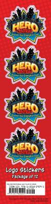 Vacation Bible School 2017 Vbs Hero Central LOGO Stickers (Pkg of 12): Discover Your Strength in God!