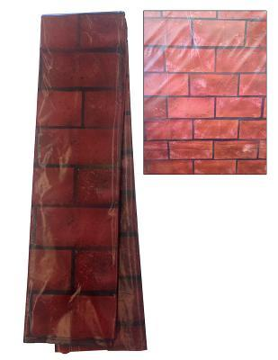 Vacation Bible School Vbs Hero Central Brick Wall Plastic Backdrop: Discover Your Strength in God!