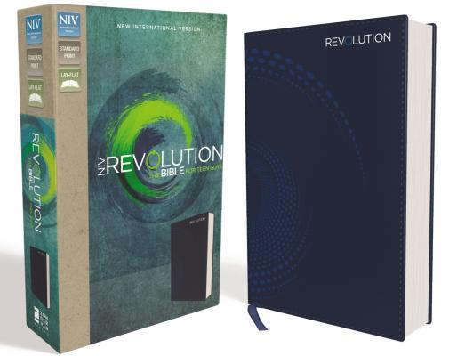 NIV, Revolution Bible, Imitation Leather, Blue