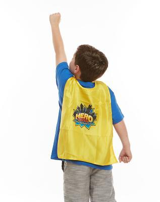 Vacation Bible School Hero Central Child's Cape with LOGO (Pkg of 6): Discover Your Strength in God!