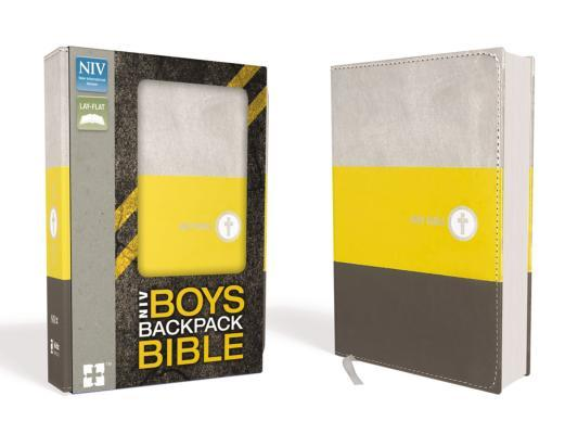 NIV Boys Backpack Bible, Compact, Imitation Leather