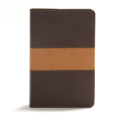 CSB Disciple's Study Bible, Brown/Tan Leathertouch