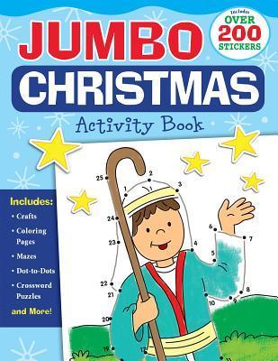 Jumbo Christmas Activity Book
