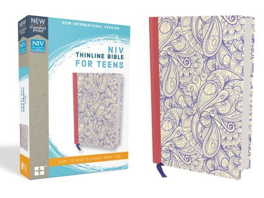 NIV, Thinline Bible for Teens, Hardcover, Purple, Red Letter Edition