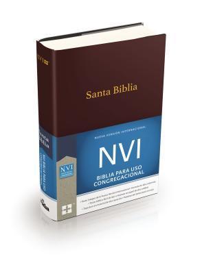 Santa Biblia Congregacional NVI - Tapa Dura Vino
