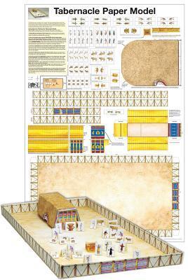 Tabernacle Paper Model-Laminated