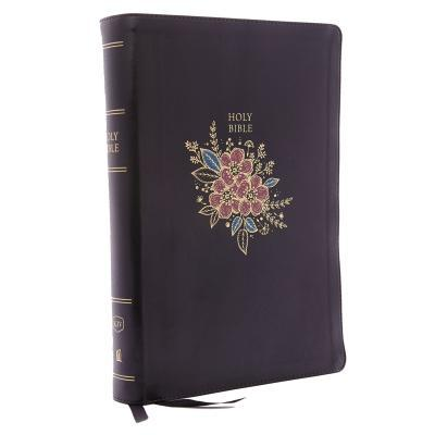 KJV, Deluxe Reference Bible, Super Giant Print, Imitation Leather, Black, Red Letter Edition
