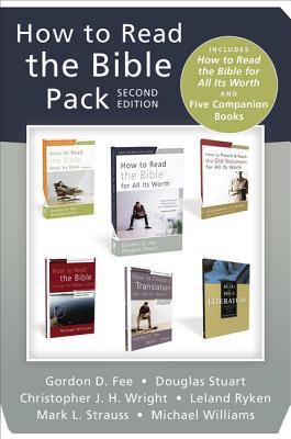 How to Read the Bible Pack, Second Edition: Includes How to Read the Bible for All Its Worth and Five Companion Books