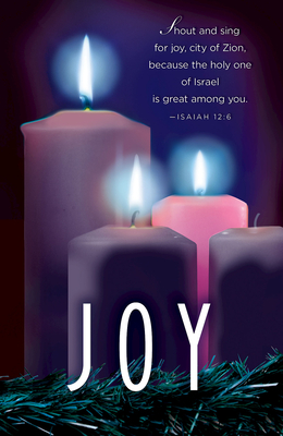 Joy Advent Candle Sunday 3 Bulletin (Pkg of 50)