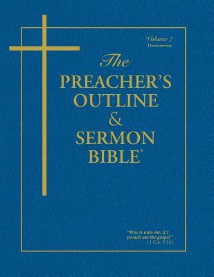 Preacher's Outline & Sermon Bible-KJV-Deuteronomy