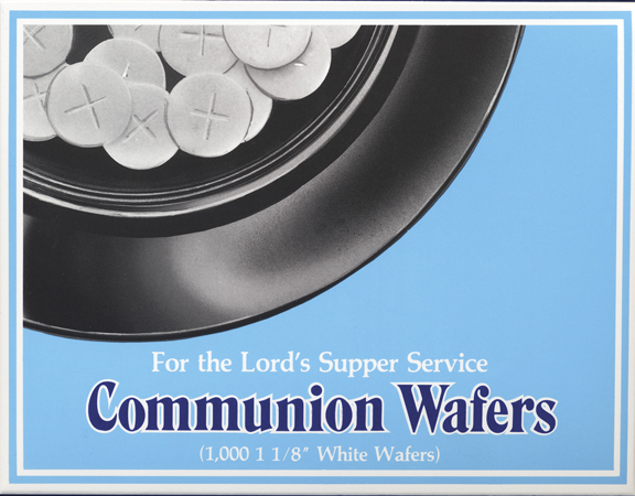 COMMUNION BREAD WAFER/1000 BOX
