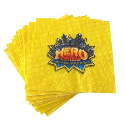 Vacation Bible School 2017 Vbs Hero Central Napkins (Pkg of 12): Discover Your Strength in God!