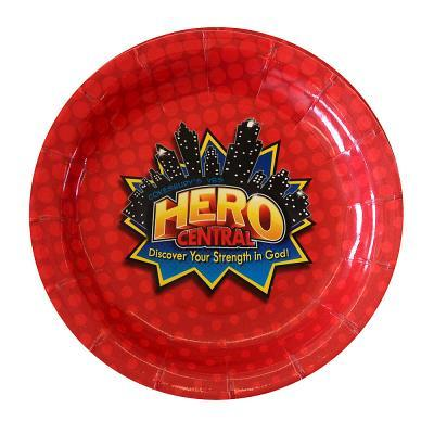 Vacation Bible School 2017 Vbs Hero Central Plates (Pkg of 12): Discover Your Strength in God!