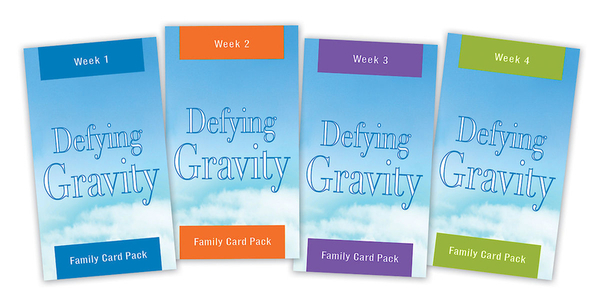 Defying Gravity Family Card Pack: 28 Days to the Life You Want