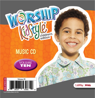Worship Kidstyle: Children's Music CD Volume 10